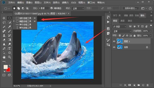 教你用Photoshop软件把照片裁剪成圆形  photoshop 第3张