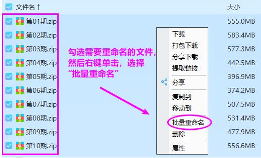 百度网盘文件在线批量重命名工具  网盘 百度 重命名 第6张