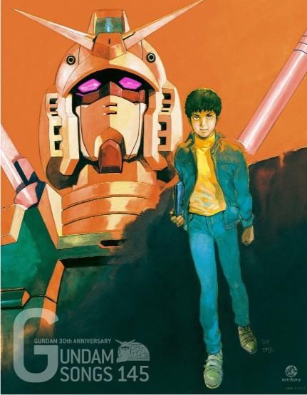 机动战士高达30周年《Gundam 30th Anniversary Box Gundam Songs 145》10CD合集  日本 第1张