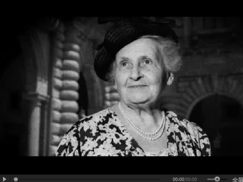 BBC纪录片《玛利亚.蒙台梭利》加丁学院翻译MP4视频  纪录片 蒙台梭利 第1张