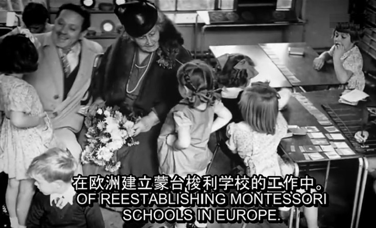 BBC纪录片《玛利亚.蒙台梭利》加丁学院翻译MP4视频  纪录片 蒙台梭利 第3张