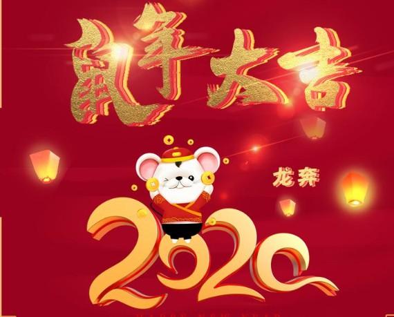 2020欢歌笑语过新年《鼠年大吉》专辑16首Wav  音乐 第1张