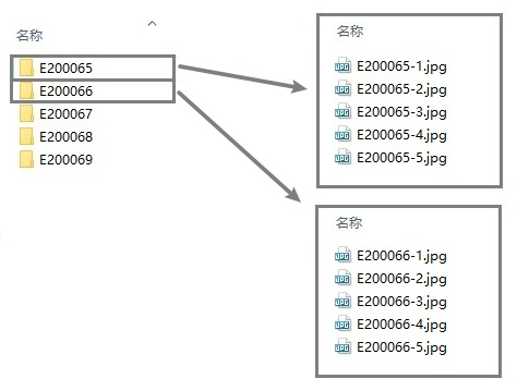 批量将文件名修改成:上一级文件夹名+文件名  重命名 批量 第2张