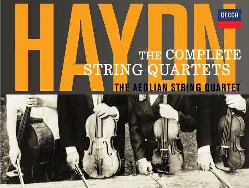 Aeolian(风神组)海顿弦乐四重奏全集22CD专辑歌曲  海顿 第1张