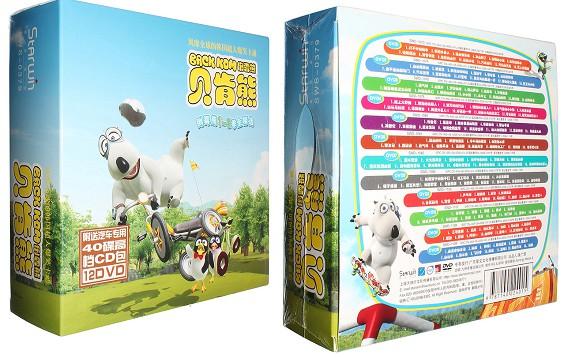 《贝肯熊/倒霉熊》动画片第1-3季12DVD视频  倒霉熊 动漫 第1张