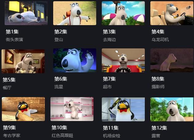 《贝肯熊/倒霉熊》动画片第4季52集MP4视频下载网盘-竹林猫  倒霉熊 第2张