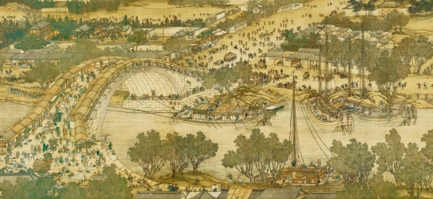 台北故宫藏完整《清明上河图》TIF高清版  第2张