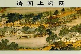 台北故宫藏完整《清明上河图》TIF高清版