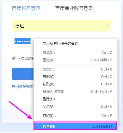 教你查看360浏览器保存在网页上的账号密码(显示密码框密码)  密码 第3张