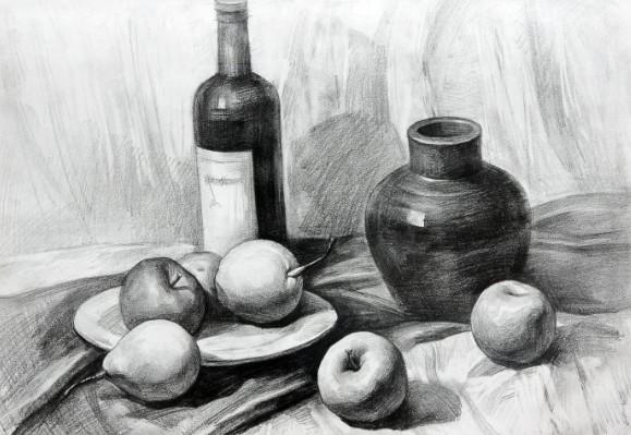 中央美院《卢毅艺术高考课程合集》素描、水粉、速写  素描 第1张