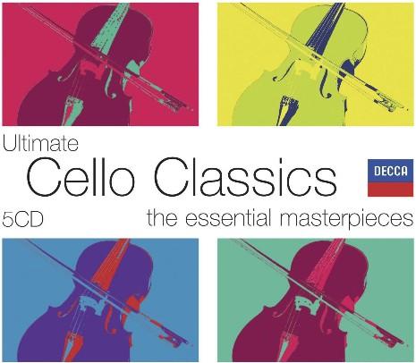 Ultimate Violin Classics《极致:大提琴古典名曲选集》5CD合集