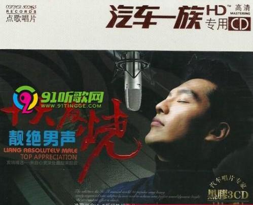群星《十大顶级·发烧男声》3CD合集HI-FI热门歌曲Wav  音乐 第1张