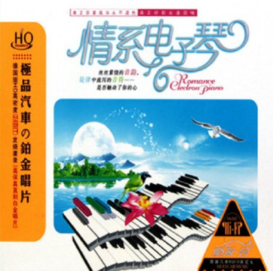 丝丝萦绕的音韵-群星《情系电子琴》3CD合集Wav  电子琴 第1张