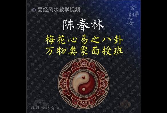 陈春林-2012年梅花心易八卦万物类象面授班14集高清录像MP4  风水 第1张