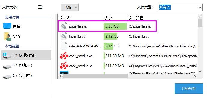 如何处理pagefile.sys文件占用C盘太多空间  Windows 第1张