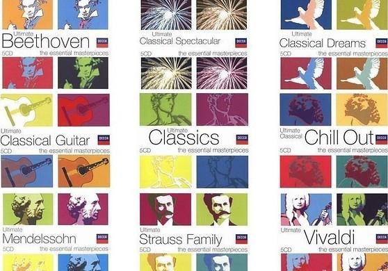 迪卡(DECCA)唱片极致《Ultimate》系列全集共34套170张CD  古典 第1张