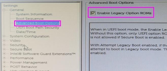 戴尔电脑如何开启Legacy模式安装系统  Windows 教程 第3张