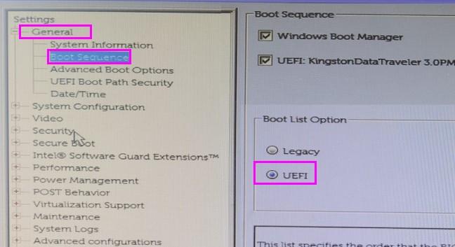 戴尔电脑如何开启Legacy模式安装系统  Windows 教程 第6张
