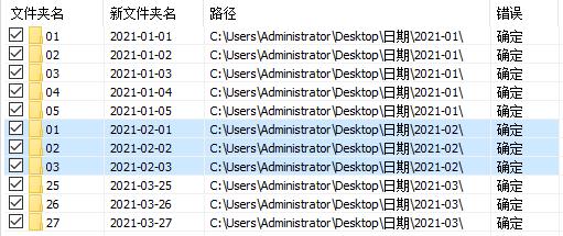 批量将子文件夹名修改成:上一级文件夹名+子文件夹名  重命名 批量 文件夹 第3张