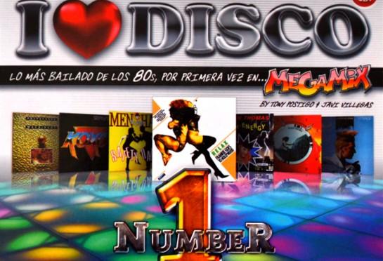 群星《I Love Disco 80s Number 1》3CD合集