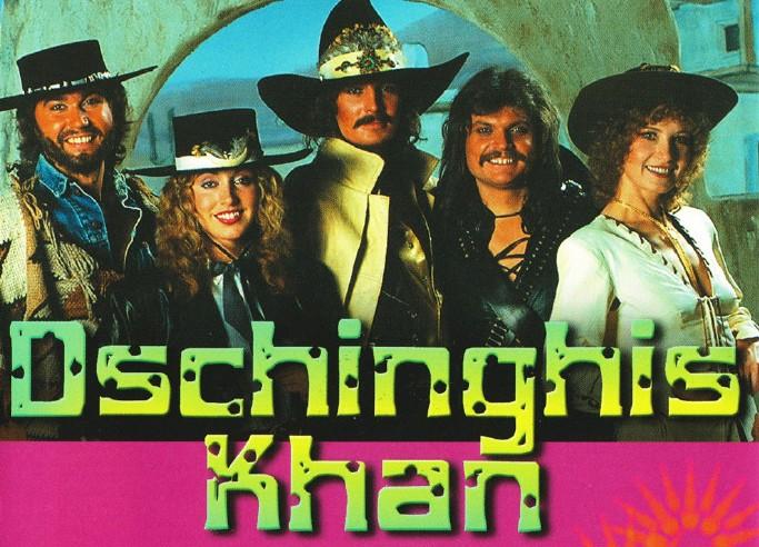 成吉思汗(Dschinghis Khan)歌曲大全1980-2021年8张音乐专辑