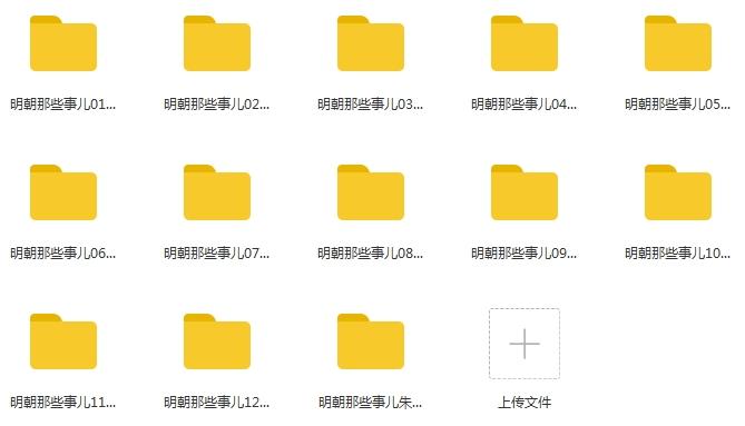 有声小说《明朝那些事儿》音频合集[MP3/1.75GB]百度云下载  广播剧 第2张