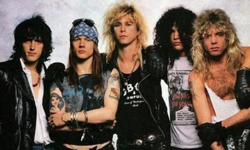 美国流行摇滚乐队Guns N Roses(枪炮与玫瑰乐队)(1986-2020年)精选12张专辑合集打包[APE/FLAC/4.54GB]百度云下载  乐队 第1张