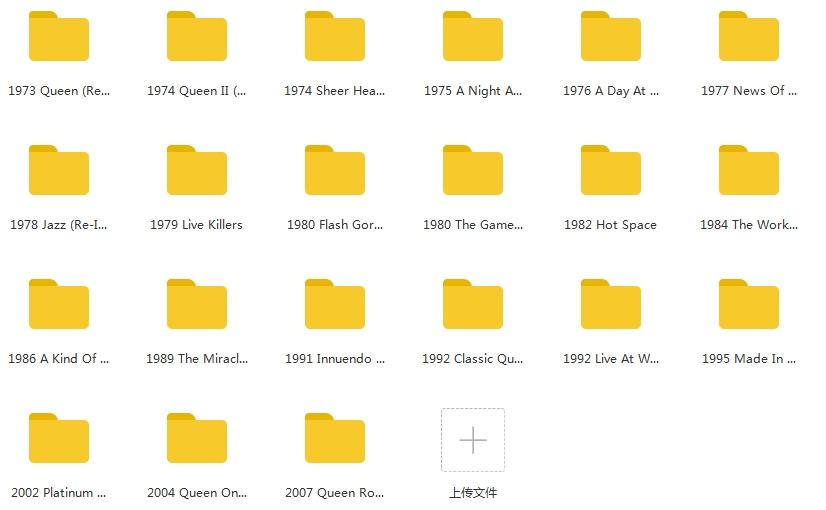 皇后乐队(Queen)(1973-2020年)21CD无损歌曲合集打包[FLAC/10.41GB]百度云下载  乐队 第2张
