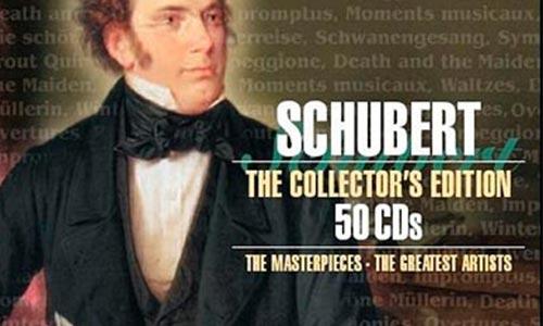 舒伯特/Franz Schubert《The Collector is Edition》精选50CD音乐歌曲合集[FLAC/11.47GB]百度云网盘下载  纯音乐 第1张