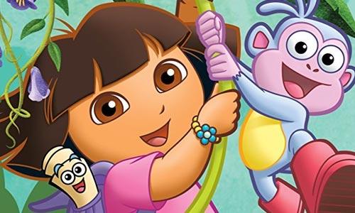 外语教学动画《爱探险的朵拉/Dora the Explorer》英文版全8季+英文绘本+电影无文字视频合集[AVI/PDF/34.94GB]百度云网盘下载  动画 第1张