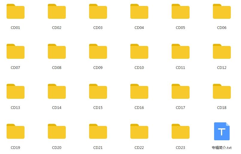 维也纳新年音乐会75周年纪念奢华限量套装23张CD无损版音乐歌曲合集[WAV/15.18GB]百度云网盘下载  纯音乐 第2张