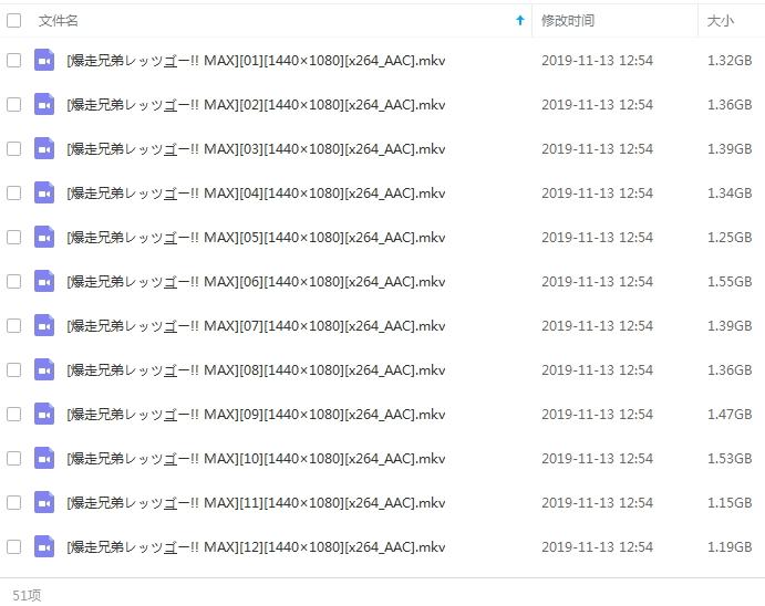 日本动漫《四驱兄弟》全三季153集超清视频国台日三语中文字视频合集[MKV/167.82GB]百度云网盘下载  动漫 第2张