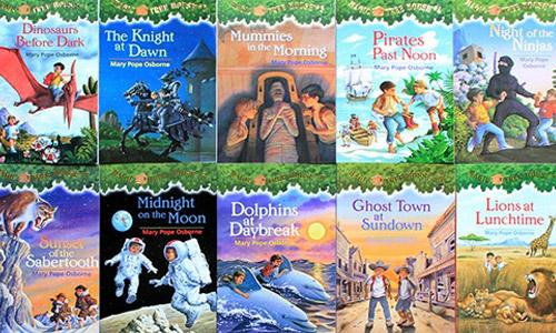 《神奇树屋/Magic Tree House》全52册音频+电子文档合集百度云下载
